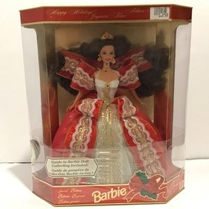 Barbie 1997 Happy Holidays special edition doll